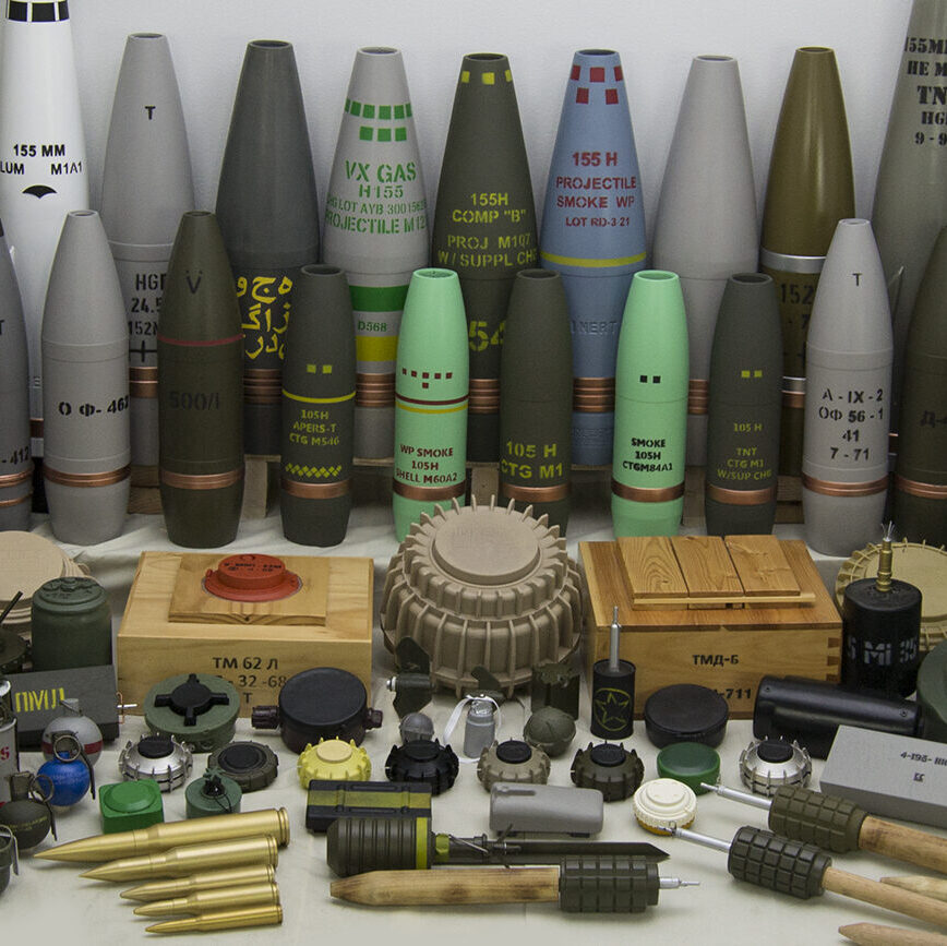 Inert Ordnance Collection